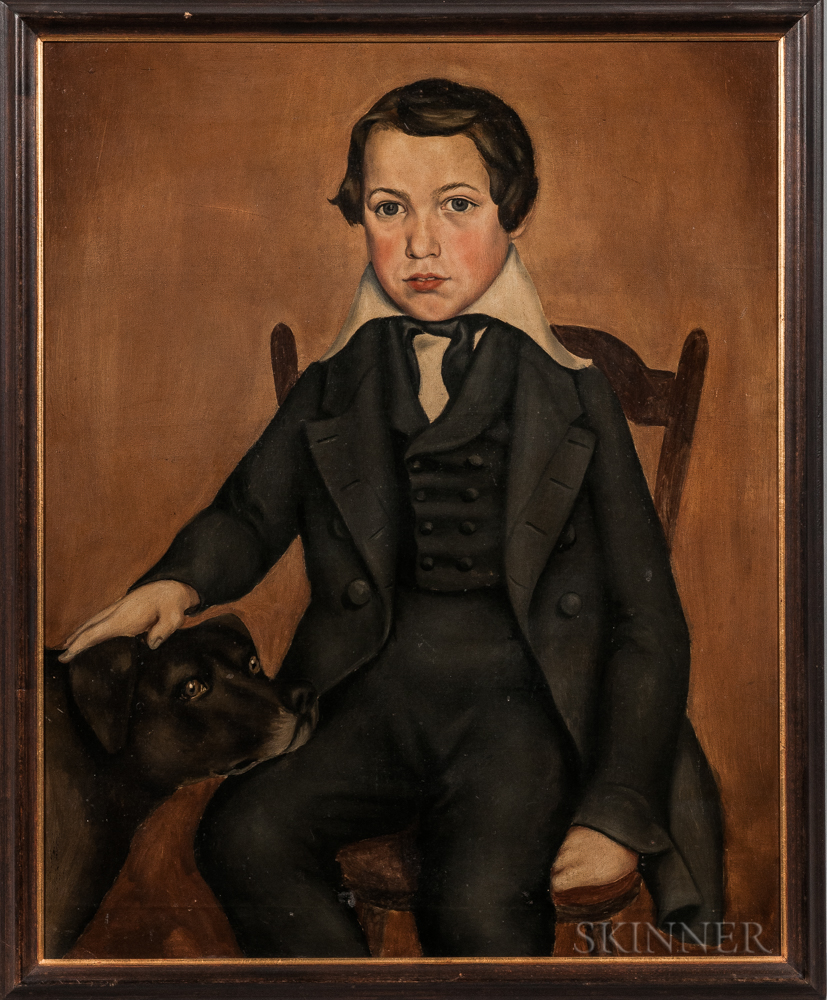 Joseph Chase Rutherford (American, Mid-19th Century)      Portrait of William B. Denison, 1843
