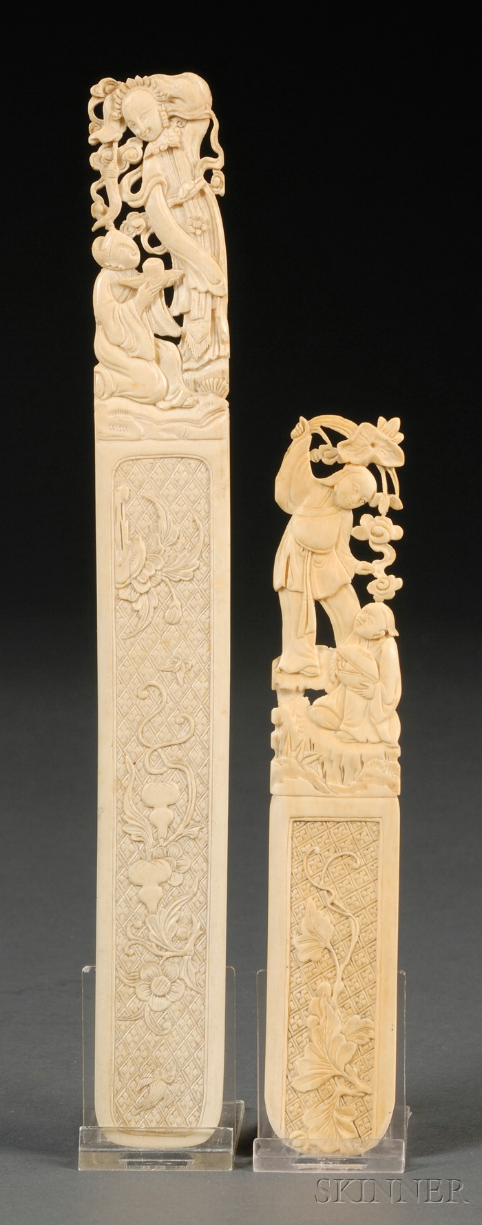 Two Ivory Page Turners