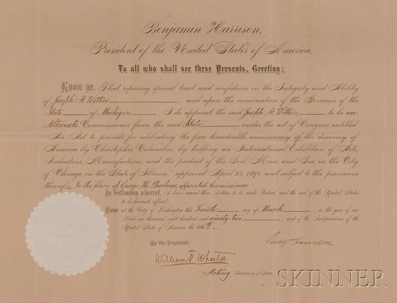Harrison, Benjamin (1833-1901)