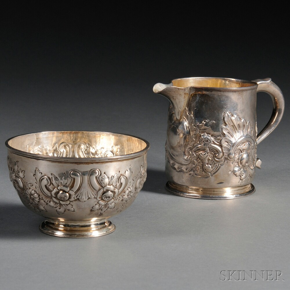 Two Pieces of English Silver
