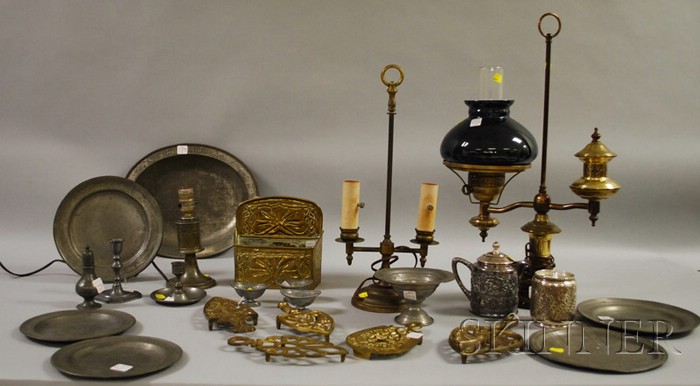 Lot of Assorted Metalware Items