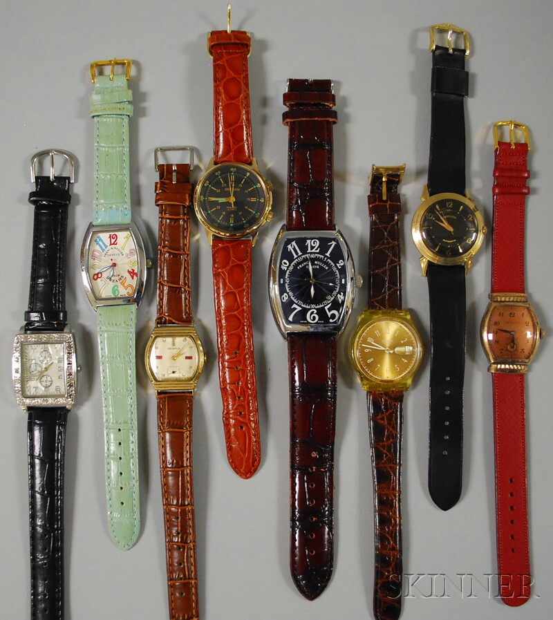 Group of Vintage and Fashion Wristwatches