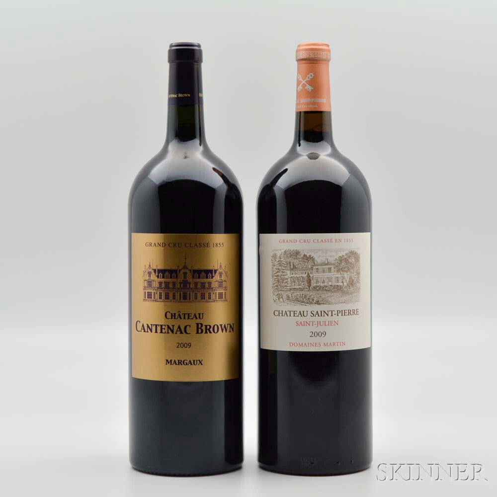 Mixed Bordeaux Magnums, 2 magnums