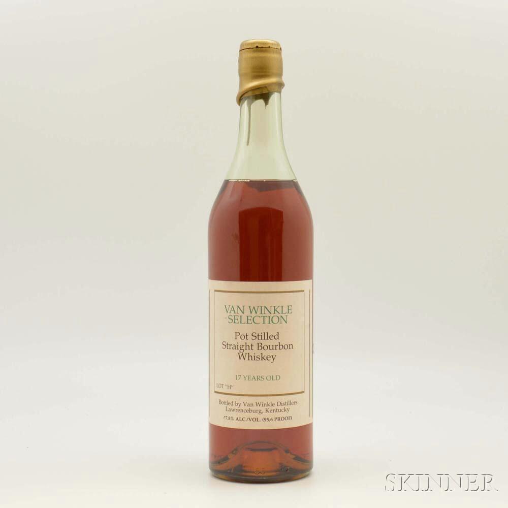 Van Winkle Selection 17 Years Old Lot H, 1 750ml bottle
