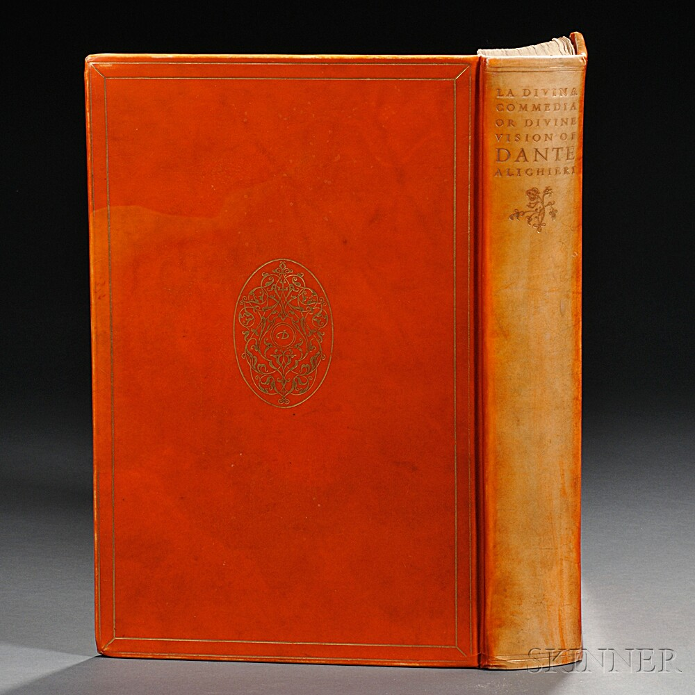 Dante Alighieri (1265-1321)   La Divina Commedia or the Divine Vision of Dante Alighieri in Italian & English