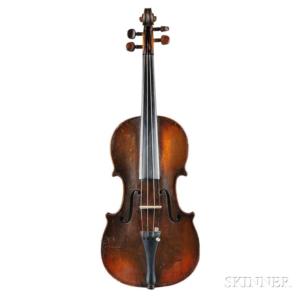 French Violin, c. 1860