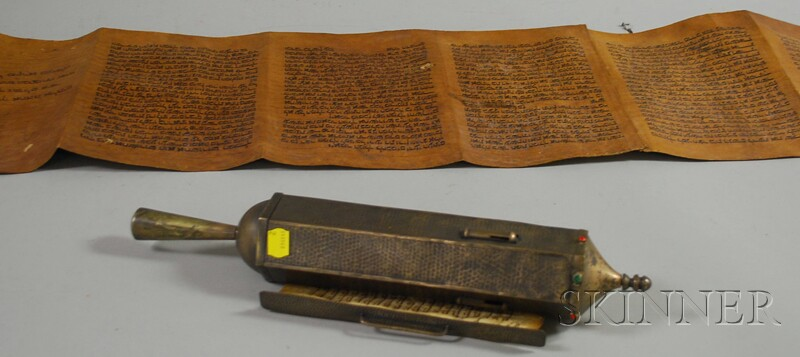 Two Megillah Book of Esther Scrolls