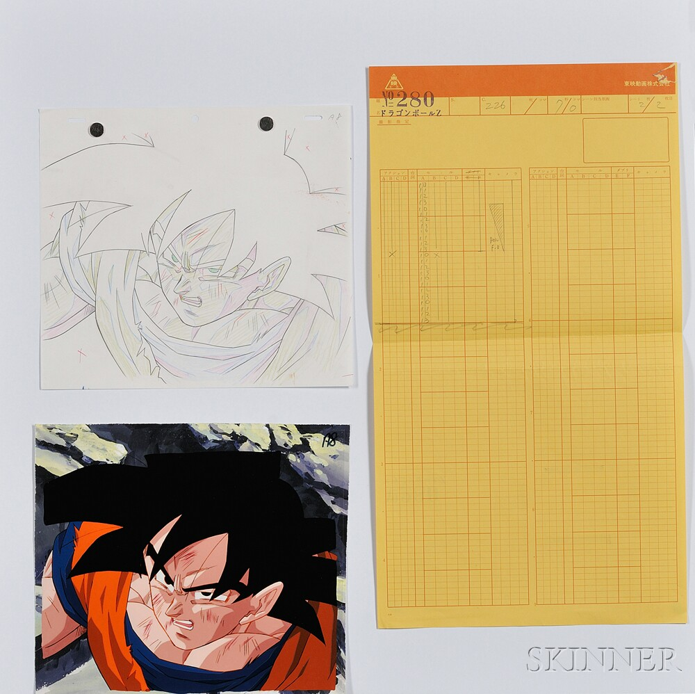 Japanese Anime Cel