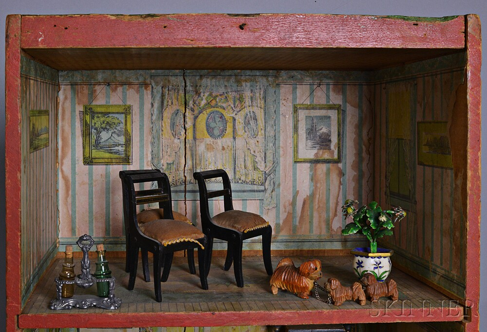 Dunham S Cocoanut Doll House And Accessories Sale Number