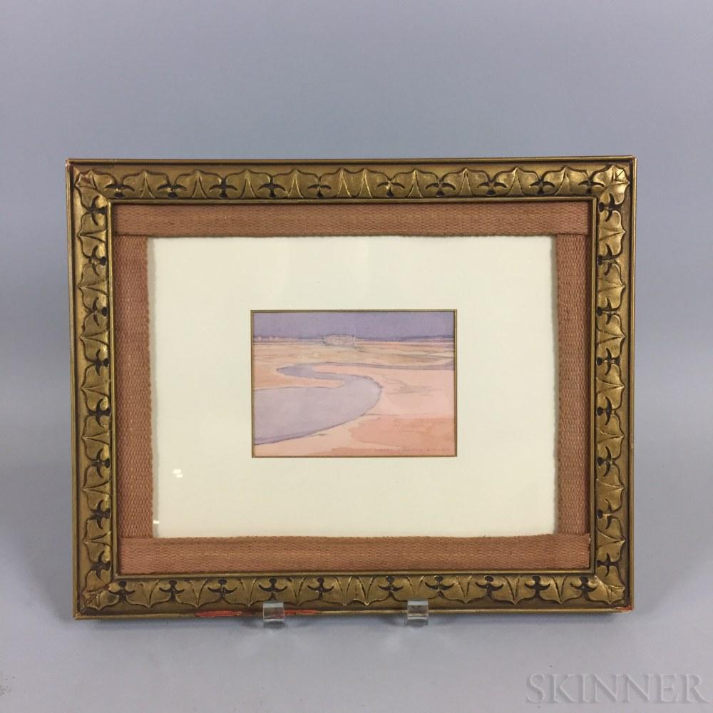Albert Prentice Button (Massachusetts, 1868-1931)       West Lynn Marshes.