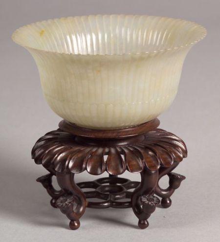 Mughal Jade Chrysanthemum Bowl