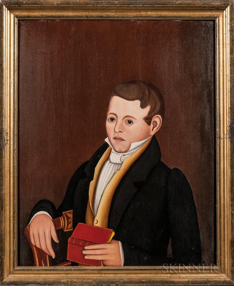 Noah North (New York, 1809-1880)      Portrait of Dewit Clinton Fargo
