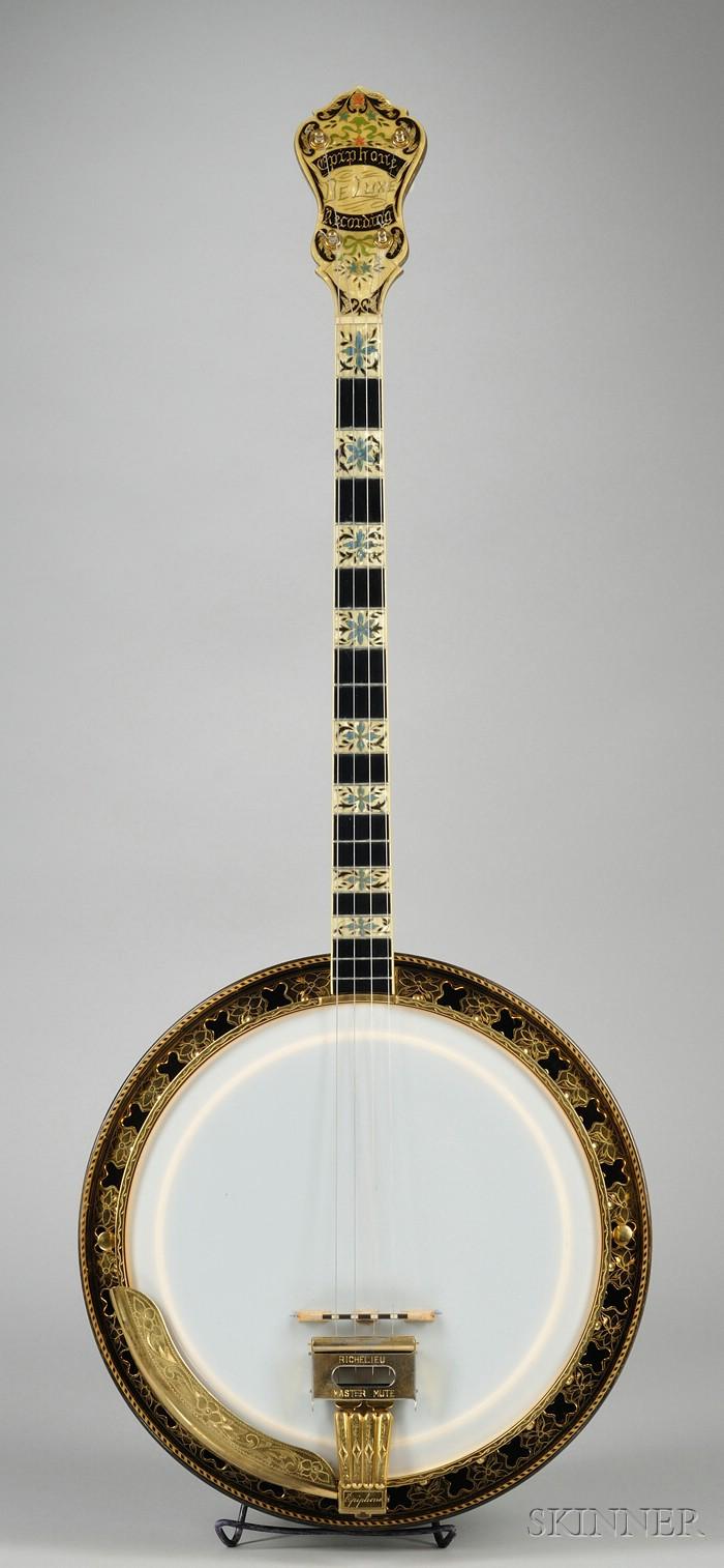 American Arch Top Tenor Banjo, Epiphone Banjo Corporation, New York,  1928
