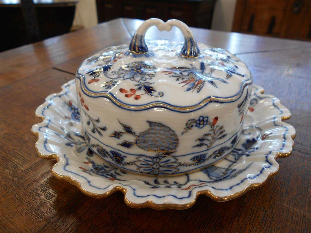 Meissen Porcelain Blue Onion Partial Luncheon Set