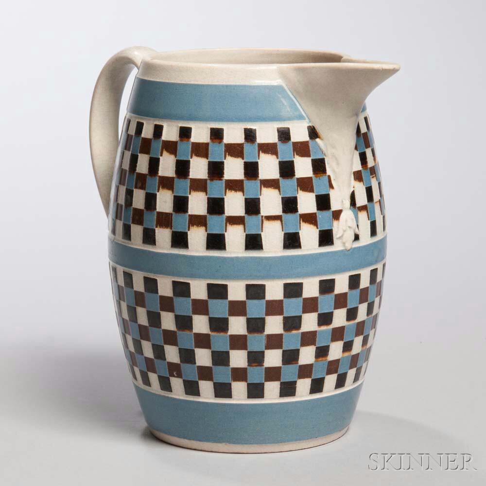 Mocha-decorated Pearlware Jug