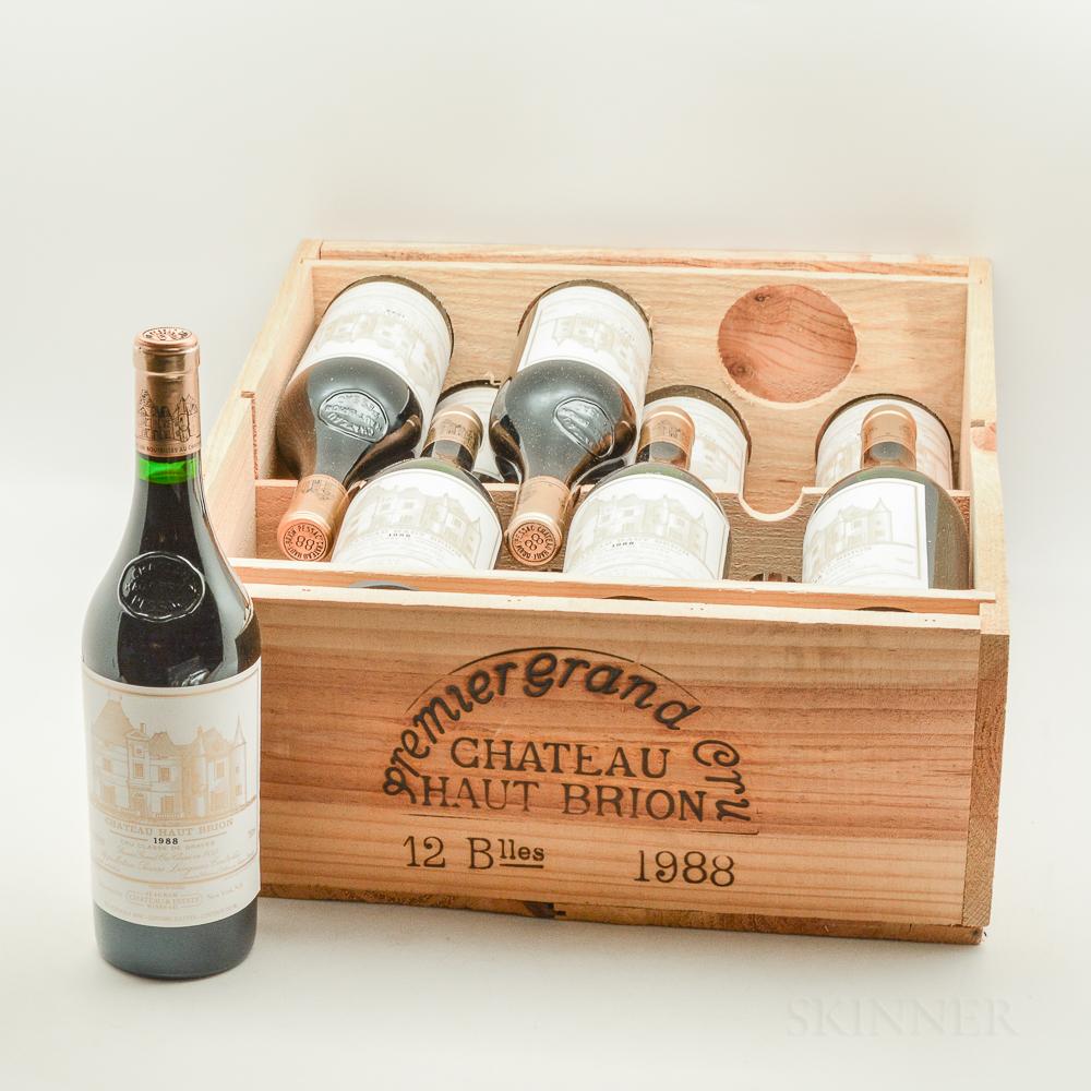 Chateau Haut Brion 1988, 12 bottles (owc)