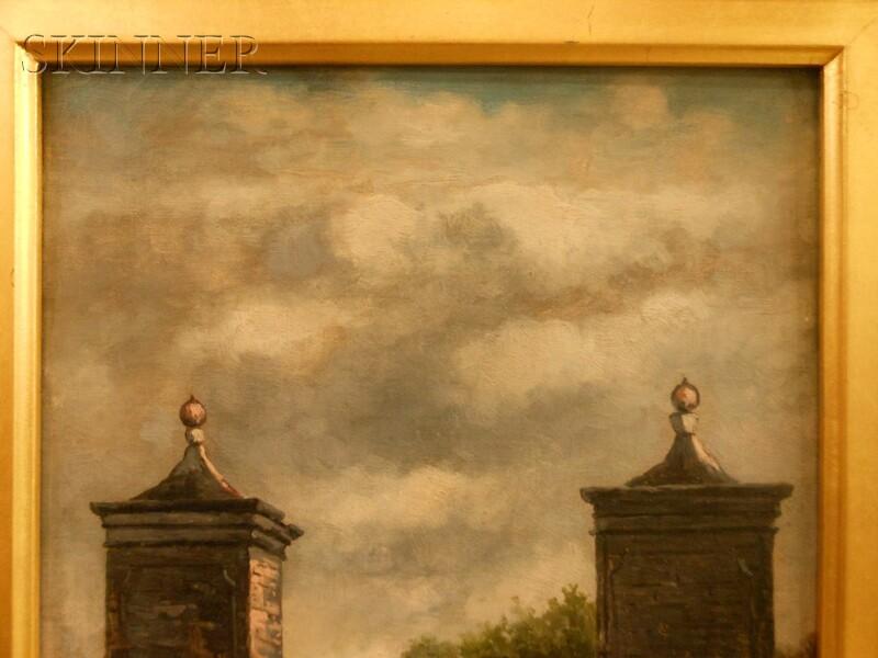 Frank Henry Shapleigh (American, 1842-1906)      City Gate St. Augustine