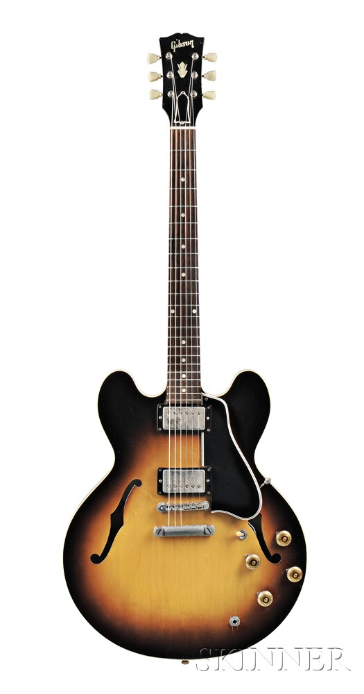 American Guitar, Gibson Incorporated, Kalamazoo, 1958, Style ES-335