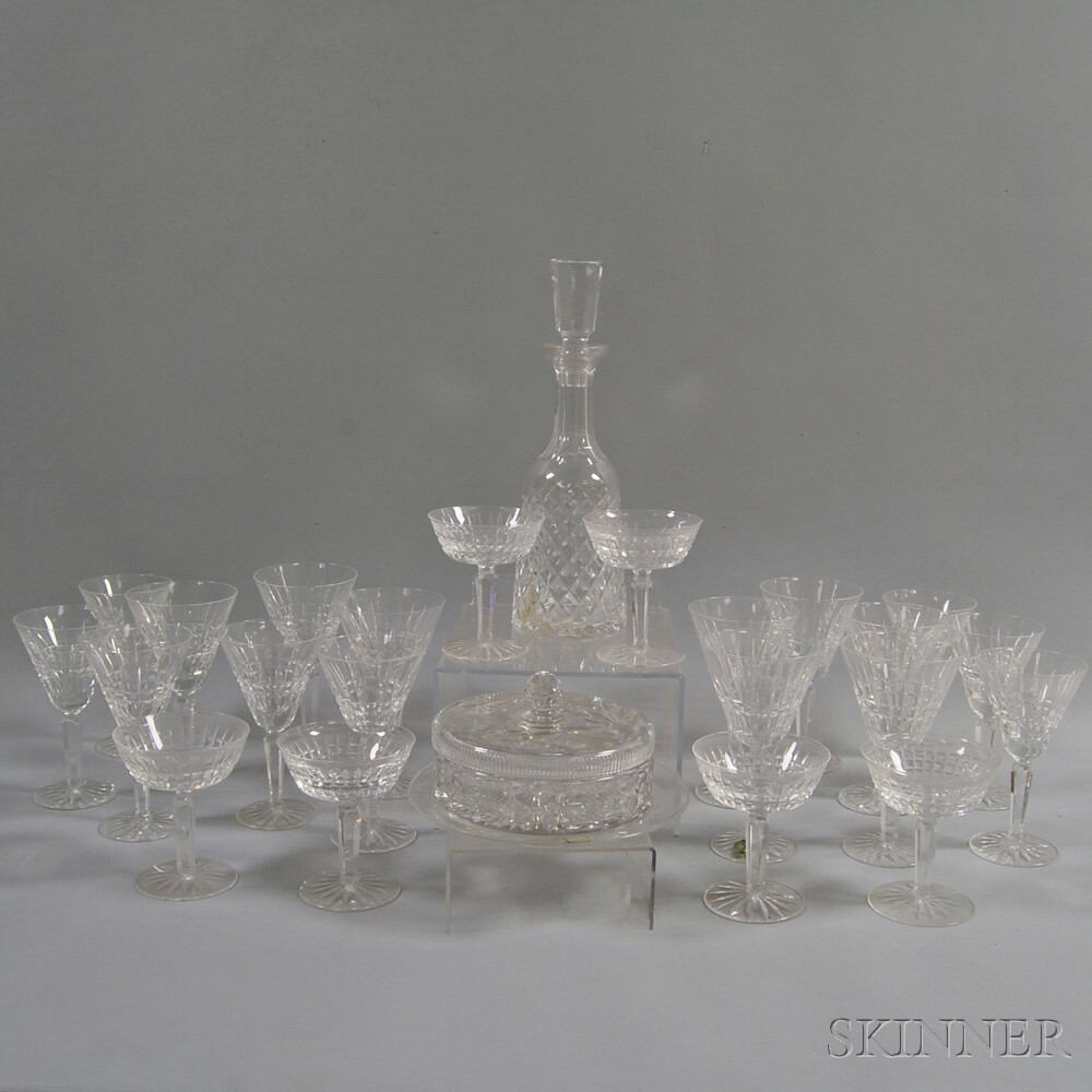 Collection of Mostly Waterford Crystal Stemware