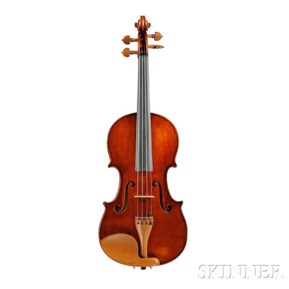 Modern Italian Violin, Possibly Amedeo Simonazzi, Santa Vittoria, 1939