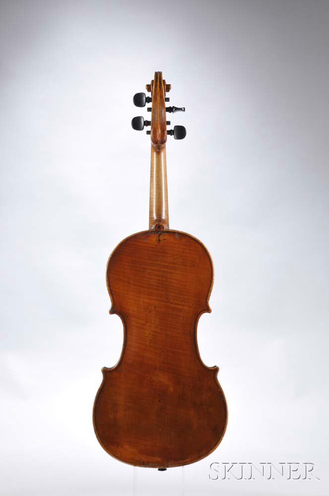 French Violin, 19th Century