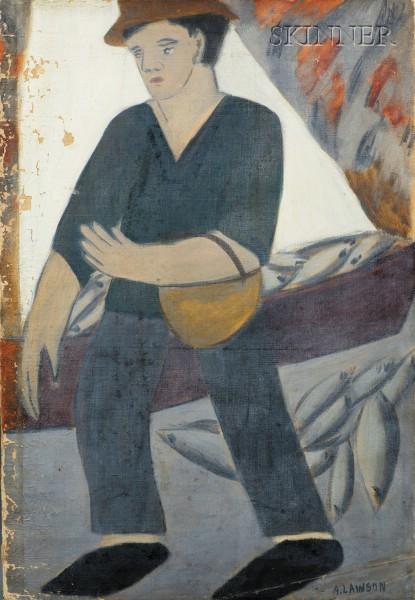 Adelaide Lawson Gaylor (American, 1889-1986)      Fisherman