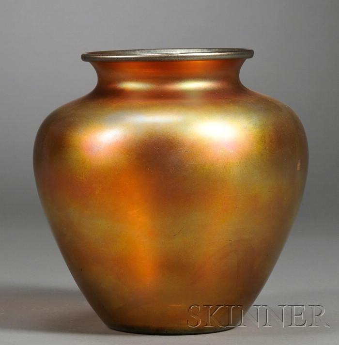 Carder Steuben Vase Sale Number 2531b Lot Number 481 Skinner