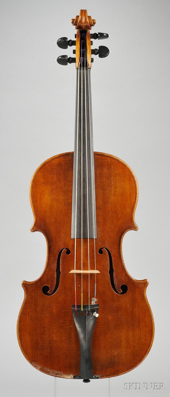 Modern Italian Viola, Probably Sderci Workshop