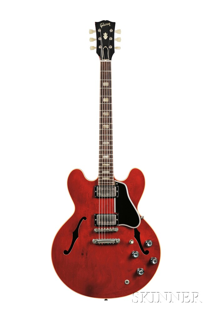 American Electric Guitar, Gibson Incorporated, Kalamazoo, 1962, Style ES-335