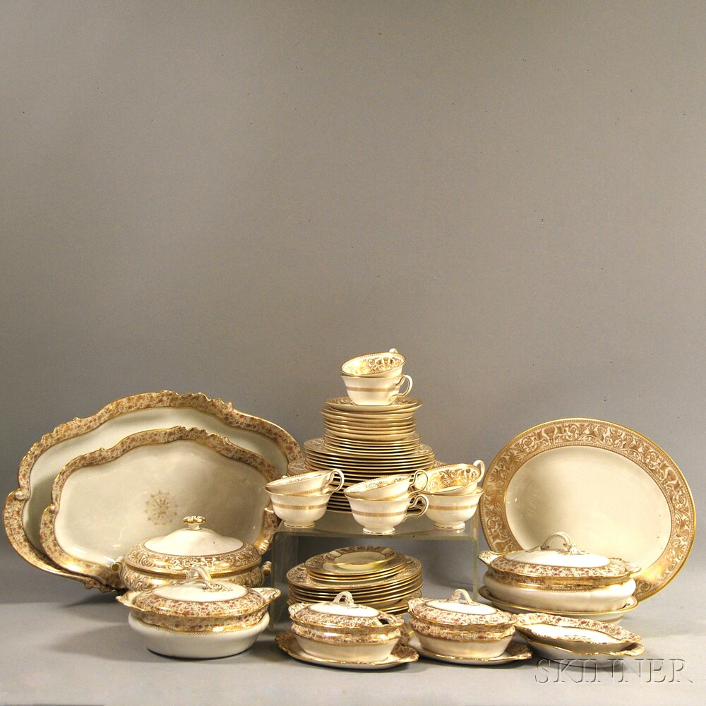 Group of Wedgwood and Limoges