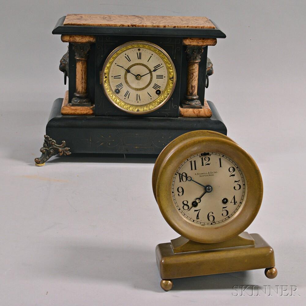 Chelsea and Seth Thomas Clocks