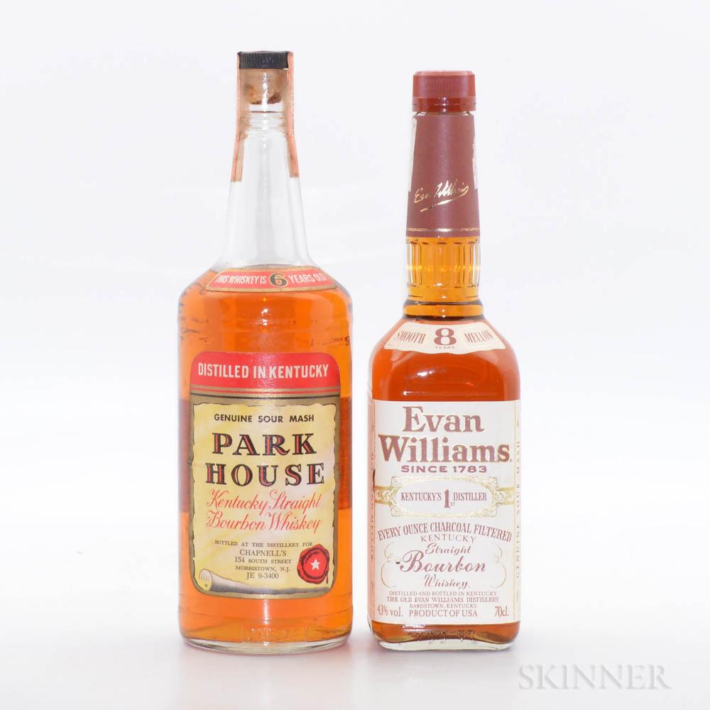 Mixed Bourbon, 1 quart bottle 1 70cl bottle