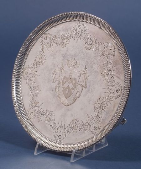 George III Silver Footed Salver