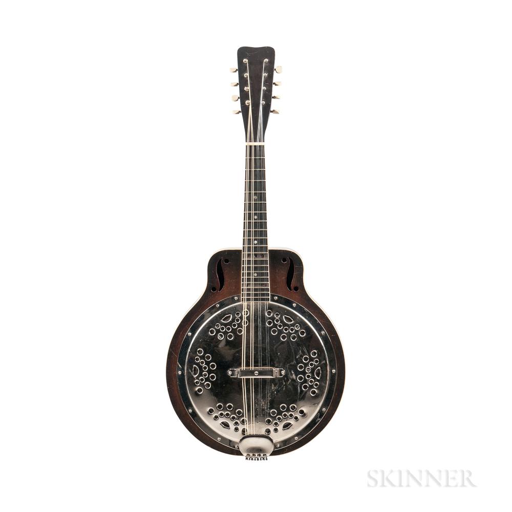 Dobro Model 250 Resonator Mandolin, c. 1930
