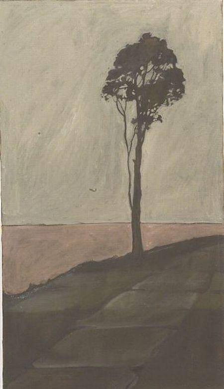 Jackie Buechner (American, 20th Century)  Lone Tree.