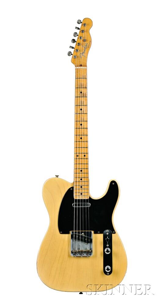 American Electric Guitar, Fender Musical Instruments, Fullerton, 1953,   Model Telecaster