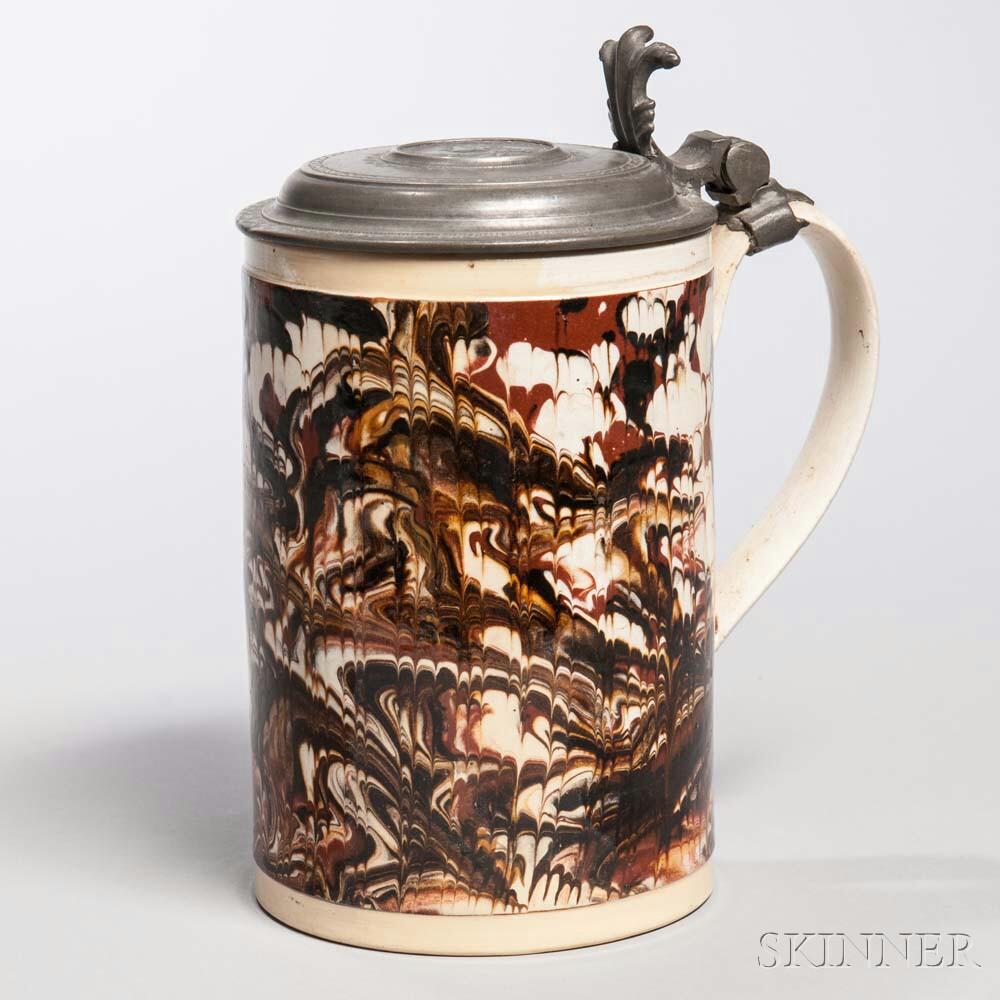 Creamware Quart Mug