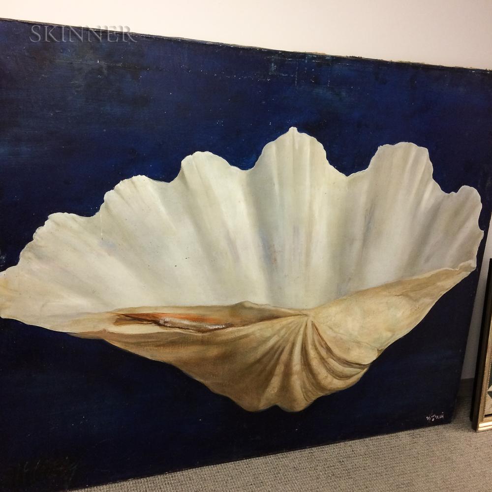 Nancy Ellen Craig (American, 1927-2015)      Giant Clam Shell.