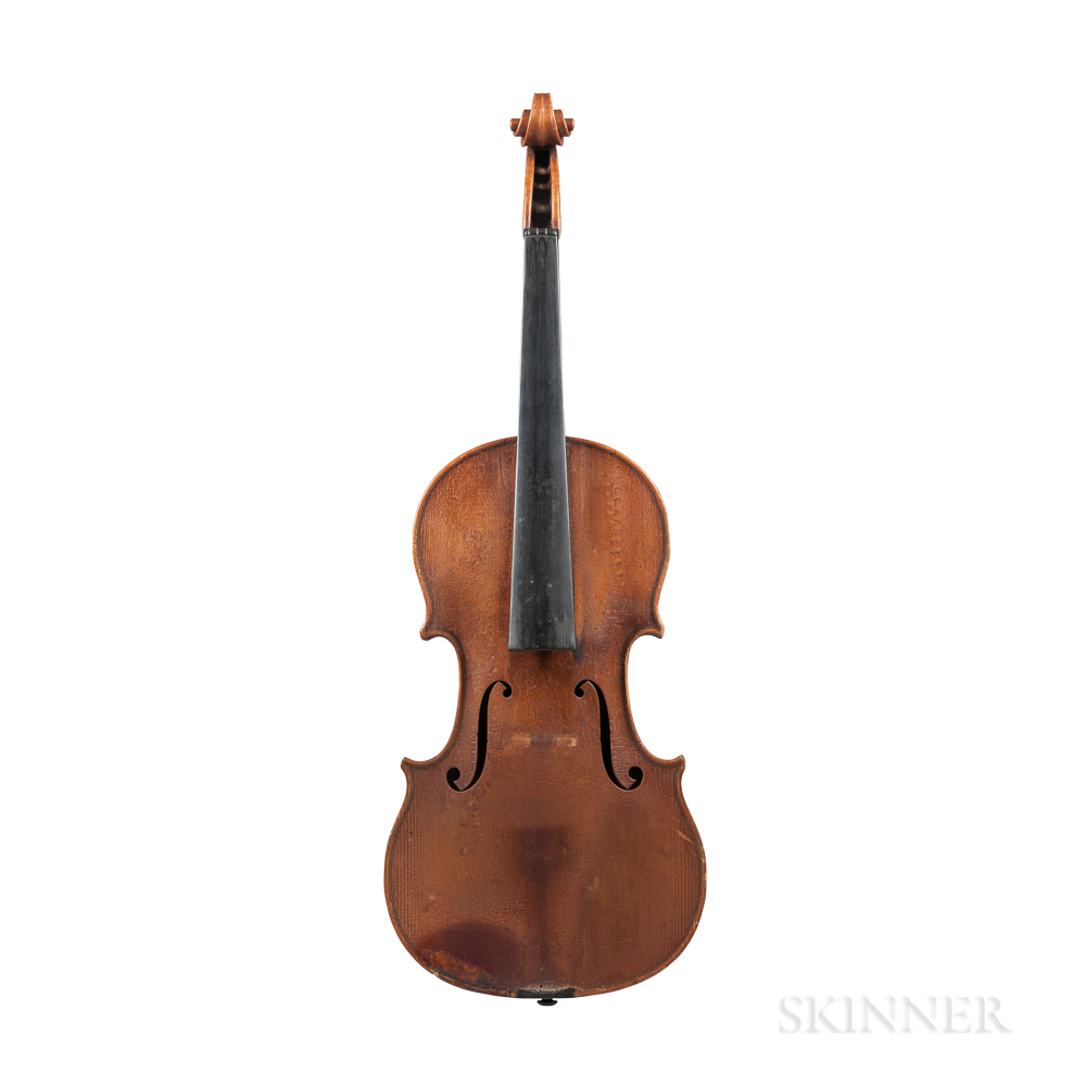 German Violin, Theodor Berger, Markneukirchen, c. 1930