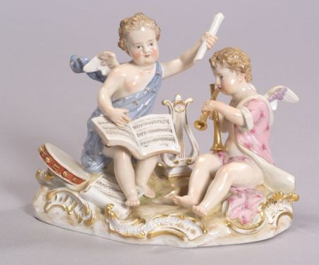 Meissen Porcelain Music Group