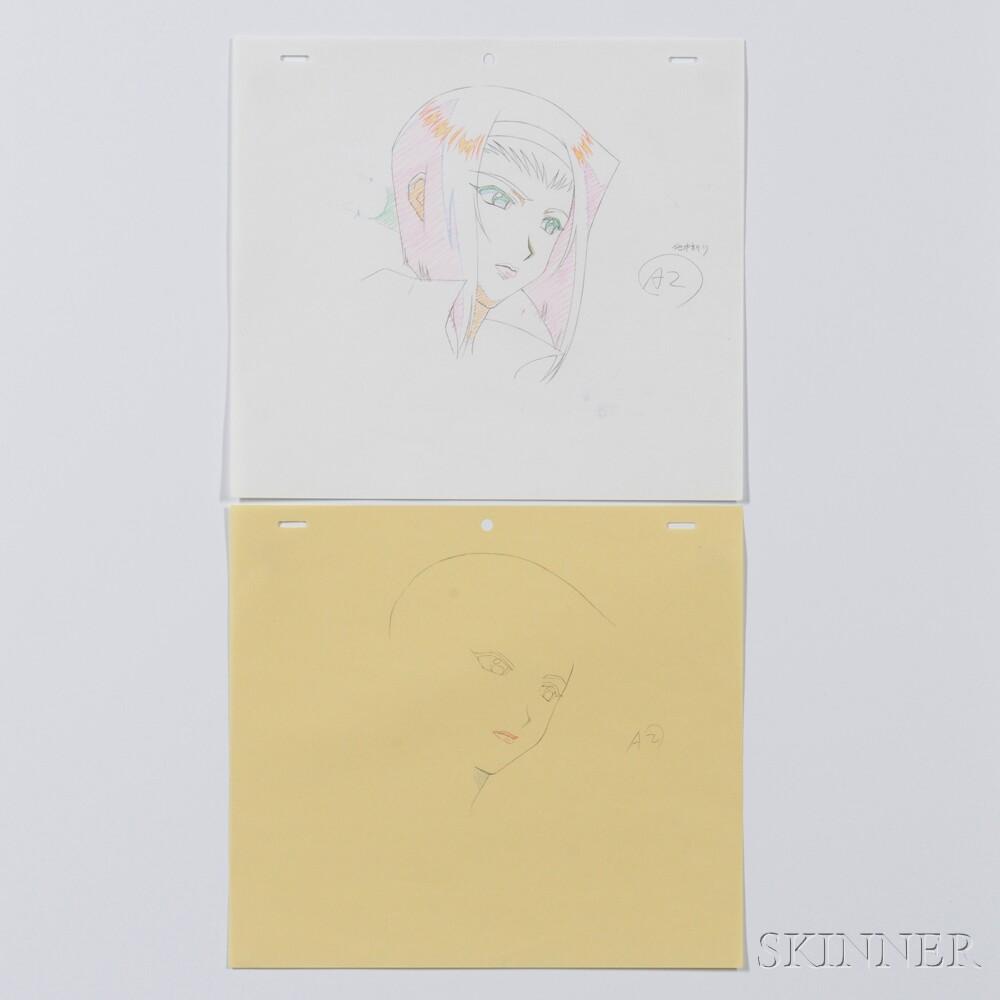 Japanese Anime Pencil Sketch