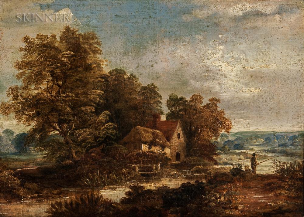 School of John Constable (British, 1776-1837)      Dedham Vale