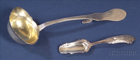 Two Continental Silver Serving Items