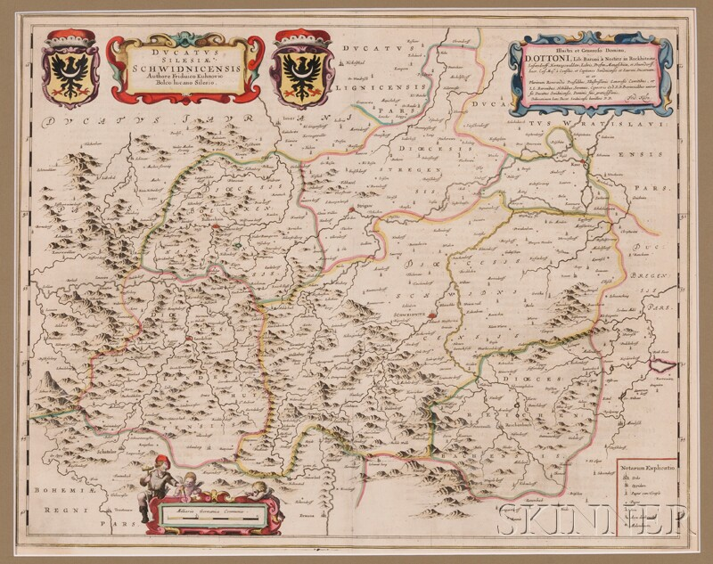 (Maps and Charts, Germany), Blaeu, Willem (1571-1638) and Blaeu, Jan (1596-1673)