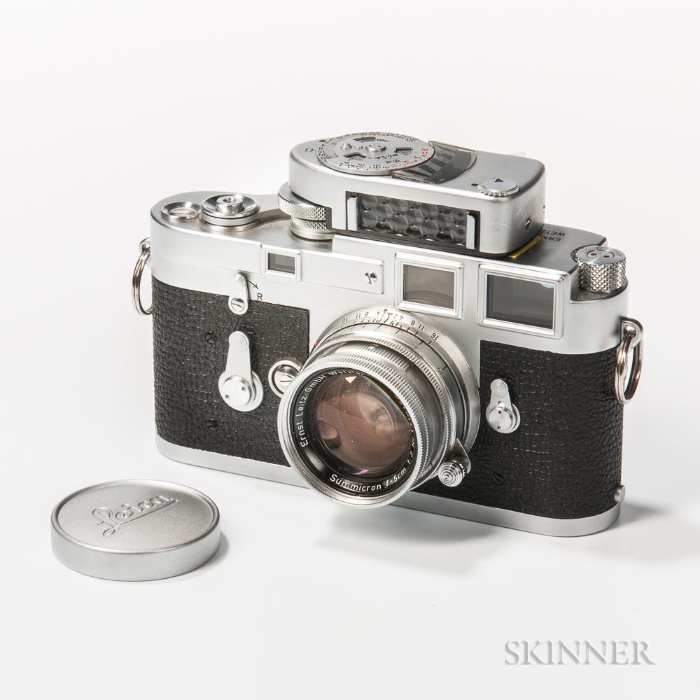 Leica M3 Chrome Single Stroke Camera