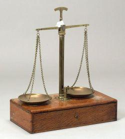 Brass Beam Balance