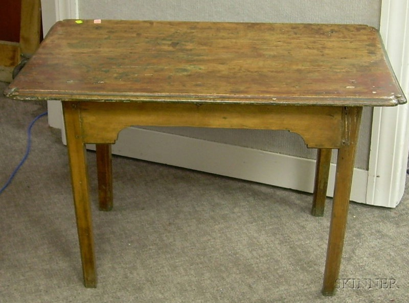 Country Chippendale Maple Tavern Table