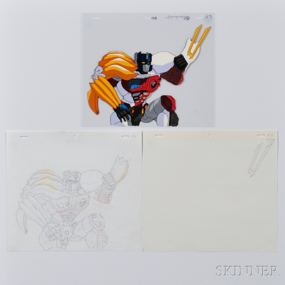 Two-layer Japanese Anime Cel