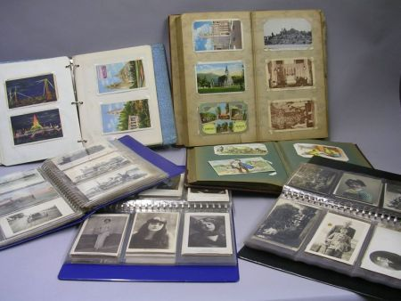 Collection of Circa 1900 to 1940 Post Cards