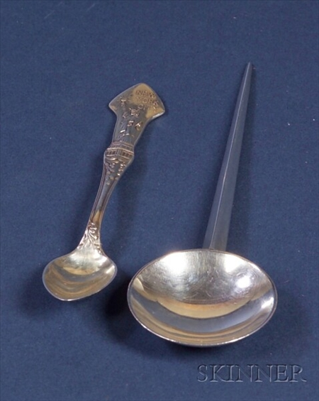 Two Tiffany & Company Sterling Souvenir Spoons